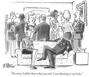 Karikatúra F.M.Alexanderről